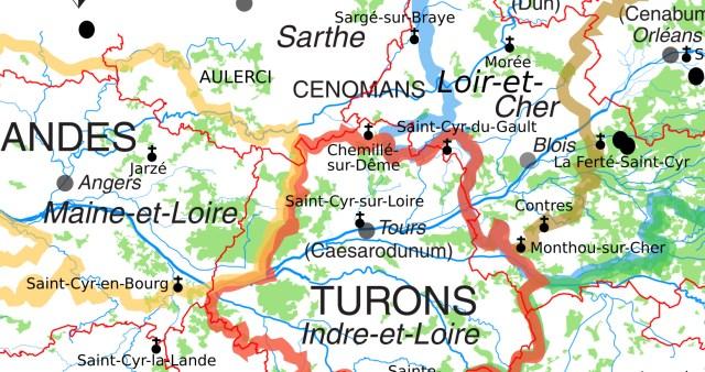 Gros plan sur les Saint-Cyr autour de Chemillé-sur-Dême