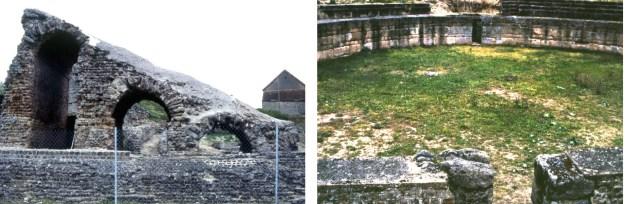 Théâtre romain de Drevant (18) près de Saint-Georges-sur-Poisieux (18)