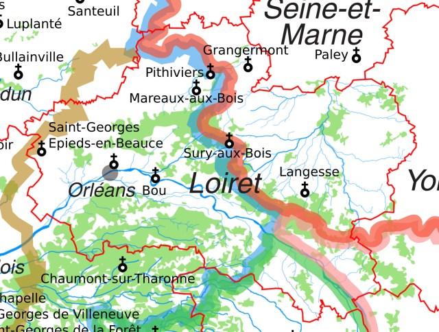 Les églises Saint-Georges dans le Loiret