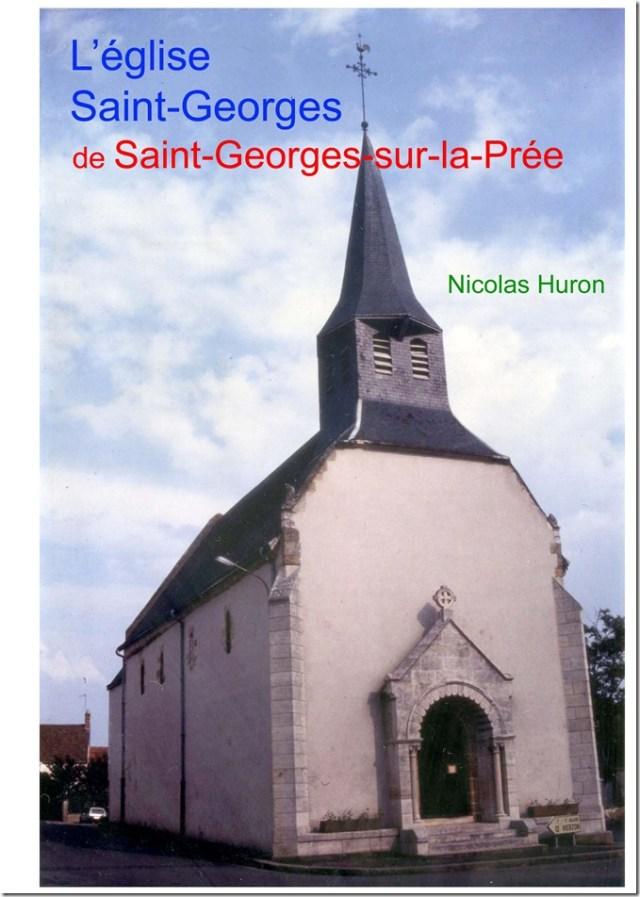 Couverture de mon étude sur l'église de Saint-Georges-sur-la-Prée