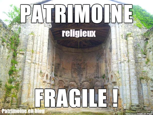 patrimoine religieux fragile