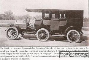 Lorraine-Dietrich-6-roues-1908-300x201 Extravagances de 1903 De Dietrich 6 roues
