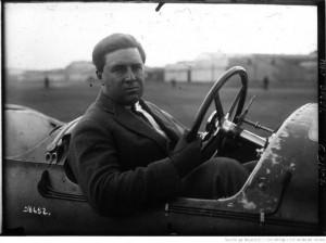 Grand Prix de Strasbourg, Piccioni sur Voisin au volant, 1922
