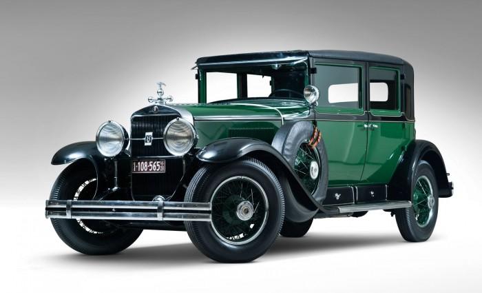 la Cadillac 341A Town Sedan d'Al Capone | Patrimoine Automobile .Com