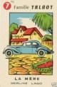 carte a jouer TALBOT LAGO grand sport voiture ancienne e (Copier)