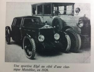 Elgé à côté d'une Motobloc 1926 (Copier)