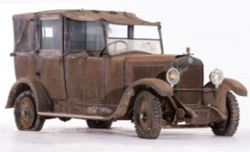 Berliet VIGB 10 HP Taxi coupé-chauffeur landaulet - 1926-27