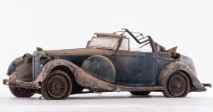 Lagonda LG 45 cabriolet quatre places - ca 1936
