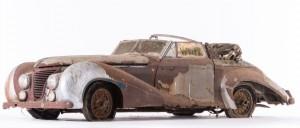 Talbot Lago T26 Record Cabriolet par Saoutchik - 1948 Châssis n°100272