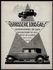 Galle Louis pub 1926