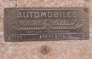 voisin-c3-1923-9-300x193 Voisin C3 de 1923 en vente à Retromobile 2015 Voisin