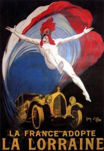 Lorraine Dietrich par jean d'ylen