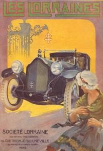 Lorraine Dietrich 1919 affiche pub D26 30hp