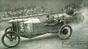1909-Velodrome-dHiver-Paris-Sizaire-Naudin-300x169 Sizaire-Naudin 1909 Cyclecar / Grand-Sport / Bitza Divers Voitures françaises avant-guerre