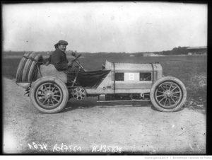 """Brasier-Léon-Théry-sur-Brasier-Grand-prix-de-lA.-C.-F.-1908-course-automobile-à-Dieppe-le-7-juillet-300x226 Brasier """"Aéro-Race"""" 1908 Cyclecar / Grand-Sport / Bitza Divers"""