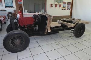Chassis Delahaye 1