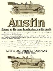 Austin-1911-225x300 Austin Hall Scott Aéro 1911/18 Cyclecar / Grand-Sport / Bitza Divers
