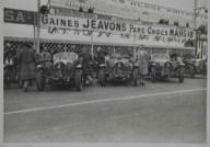1926. Les 24 heures du Mans. Le départ . Epreuve argentique d'époque en noir et blanc