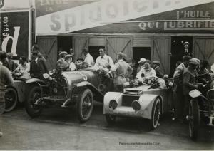 925.-Les-24-heures-du-Mans.-Courcelles-Rossignol-et-Lorraine-Dietrich-300x212 Lorraine Dietrich aux 24h du Mans de 1925 Divers Lorraine Dietrich aux 24h du Mans de 1925