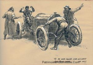 Lorraine-Dietrich-CR2-1905-Peter-Helck-300x211 L'art et Lorraine Dietrich L'art et Lorraine Dietrich Lorraine Dietrich