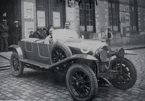 courcelle-rossignol-1924-300x209 Lorraine Dietrich aux 24 h du Mans 1924 Lorraine Dietrich aux 24 h du Mans 1924