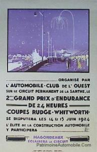 lm1924affiche-193x300 Lorraine Dietrich aux 24 h du Mans 1924 Lorraine Dietrich aux 24 h du Mans 1924