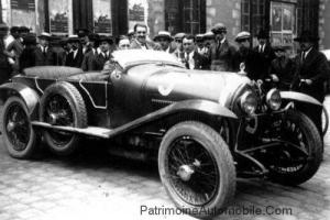 lorraine-courcelle-rossignol-1925-300x200 Lorraine Dietrich aux 24h du Mans de 1925 Divers Lorraine Dietrich aux 24h du Mans de 1925