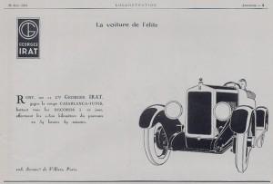 GI5-300x203 Georges Irat, voiture de l'élite Divers Georges Irat Voitures françaises avant-guerre