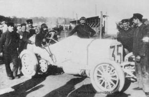 "Mercedes-1908_GPDieppe-4-300x195 Mercedes-Simplex ""Grand prix de France"" 1908 Cyclecar / Grand-Sport / Bitza Divers Voitures étrangères avant guerre"