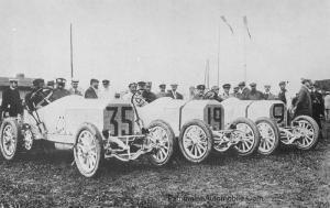 "Mercedes-1908_GPDieppe-5-300x189 Mercedes-Simplex ""Grand prix de France"" 1908 Cyclecar / Grand-Sport / Bitza Divers Voitures étrangères avant guerre"