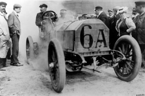Mercedes-Simplex de 1906 Jenatzy grand prix de l'ACF