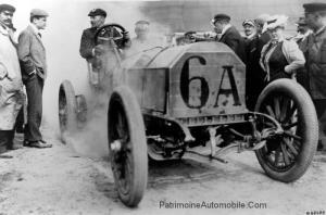 Mercedes-Simplex-de-1906-Jenatzy-grand-prix-de-lACF-300x198 Mercedes-Simplex Course 1906 Cyclecar / Grand-Sport / Bitza Divers Voitures étrangères avant guerre