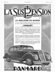 Affiche-1938-230x300 PANHARD & LEVASSOR Dynamic Coupé de 1936 Divers Voitures françaises avant-guerre