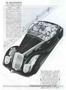 DYNAMIC-36-cabriolet-pub-221x300 PANHARD & LEVASSOR Dynamic Coupé de 1936 Divers Voitures françaises avant-guerre