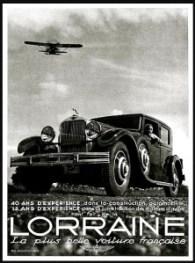 Lorraine La plus belle voiture 40 ans experience - Publicite Automobile de 1932
