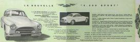 Salmson-2300scatalogue-300x91 Salmson 2300S de 1955 Salmson