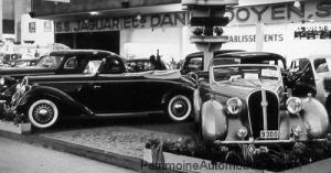 30-Hotchkiss-Cabriolet-Biarritz-6-cylindres-17-CV-Gauche-Hotchkiss-GS-3-Cabriolet-Vesters-Neirinck-Droite-Bruxelles-1938-DSCN3270-300x157 Hotchkiss 864 Biarritz de 1938 Hotchkiss