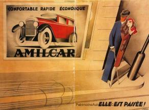 Amilcar-pub-300x221 Amilcar CC de 1922 Cyclecar / Grand-Sport / Bitza Divers