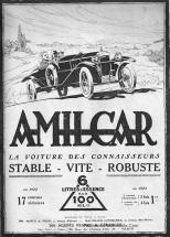 Amilcar-pub2-215x300 Amilcar CC de 1922 Cyclecar / Grand-Sport / Bitza Divers