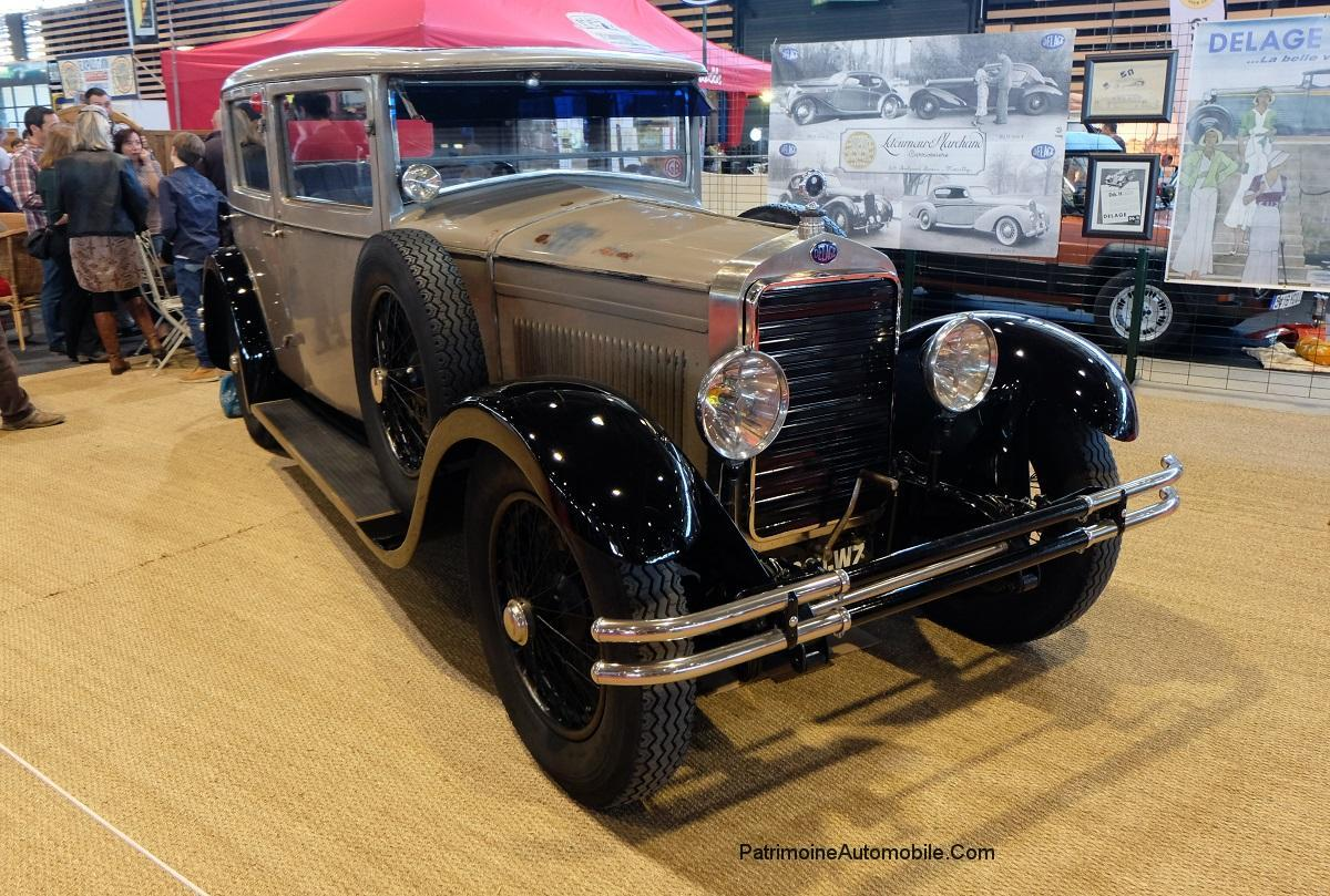 delage dr70 de 1929 patrimoine automobile com. Black Bedroom Furniture Sets. Home Design Ideas