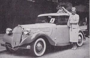 coupé VUTOTAL La Licorne 1937 (Mademoiselle Marthe Mussine)