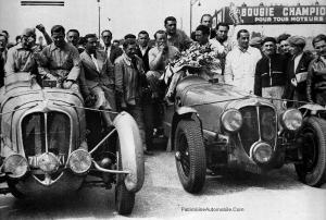 Delahaye-135-aux-24h-dumans-1938-300x202 Delahaye 135 Coach Autobineau de 1935 Divers Voitures françaises avant-guerre