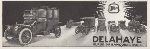 Delahaye Type 32 de 1913 pub