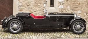 Aston Martin Le Mans 1½-Litre 2ème série de châssis long 'Tourer' 1933 3