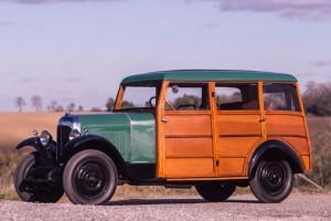 Citroën-B12-limousine-woody-1925-300x200 Vente Artcurial de Rétromobile (2016), ma sélection Autre Divers