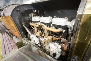 Mercedes 2895 Phaetin 1914 moteur 2