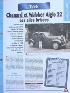 Chenard-et-Walcker-Aigle-2-225x300 Chenard et Walcker Type 11P de 1933 Divers Voitures françaises avant-guerre