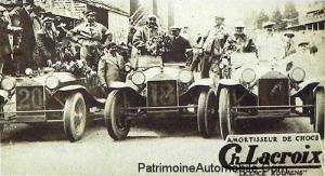 Depart-du-Grand-Prix-de-Belgique-1929-l-equipe-Lancia-aura-la-Coupe-du-Roi--300x163 Lancia Lambda Torpédo 1923 Divers Voitures étrangères avant guerre