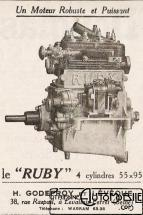 moteur-ruby-200x300 Sandford Type FT5 de 1934 Cyclecar / Grand-Sport / Bitza Divers