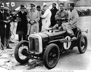 Austin 7 Ulster winner of 1930 500 Mile Race, Brooklands